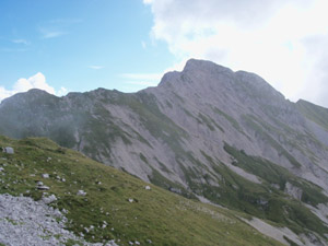 Via Normale Cima Valmora - Cresta W