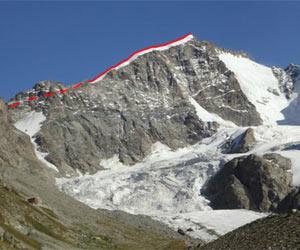 Via Normale Biancograt Pizzo Bernina