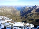 Via Normale Scalettahorn - La Dischma dalla vetta dello Scalettahorn