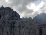 Via Normale Jof Fuart - Sella tra le due cime