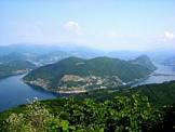 Via Normale Monte Pravello - Panorama sulla Valceresio e Lugano dalla vetta