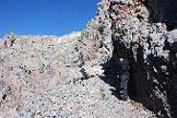 Via Normale Monte delle Scale - Poco sotto il forte