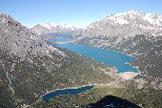 Via Normale Monte delle Scale - Splendida vista sulla Val Fraele dalla cima
