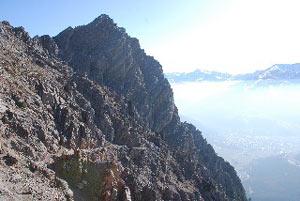 Via Normale Picco della Croce di Monte Scale
