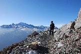 Via Normale Picco della Croce di Monte Scale - Sul versante Sud