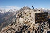 Via Normale Picco della Croce di Monte Scale - In cima