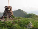 Via Normale Monte Misa - La cima con dietro il secondo cimotto