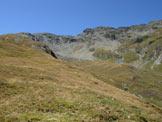 Via Normale Tscheischhorn - Lo Tscheischhorn da E, dal versante di salita