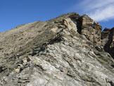 Via Normale Tscheischhorn - La cresta SSE della Cima Centrale