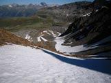 Via Normale Piz Muragl - In discesa, alla fine del ghiacciaio