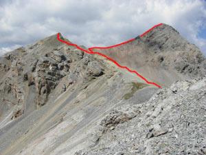 Via Normale Monte Cornaccia