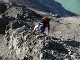 Via Normale Monte Cornaccia - Sulla cresta