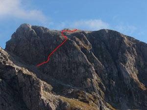 Via Normale Monte Cernera - Variante Possoliva