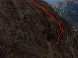 Via Normale Monte Cernera - Variante Possoliva - Il tratto chiave della variante.jpg