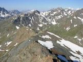 Via Normale Monte Forcellina - Sulla cresta SW