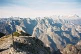 Via Normale Tiron - Vetta Tiron verso Monti del Sole