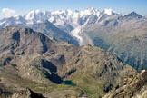 Via Normale Piz Languard - Il Gruppo del Bernina dalla vetta