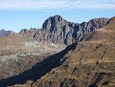Via Normale Monte Spondone - Parete dove sale la Ferrata