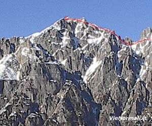 Via Normale Monte Obante