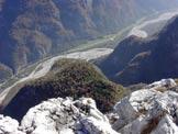 Via Normale Rocchetta - Val Cordevole dalla cima