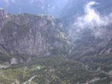 Via Normale Gusela del Vescovà - Verso la Valle dell´Ardo