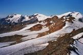 Via Normale Cima Rossa di Sa�nt - Panorama di vetta verso WSW