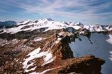 Via Normale Punta dello Scudo - L´ultimo tratto di cresta che precede la vetta