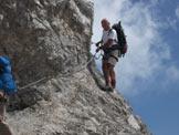 Via Normale Monte Visolo - Tratti atrezzati