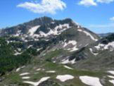 Via Normale Cima di Passo Cavuto - Dalla Cima Est del Passo Cavuto vista del Monte Petroso