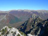 Via Normale Balzo della Chiesa - Monte Sterpi d´Alto e Serra Rocca Chiarano