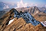 Via Normale Cima Villacorna - La cresta SW, dalla vetta