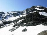 Via Normale Sasso Moro - La cresta NW dalla Forcella di Fellaria