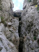 Via Normale Monte Moregallo-Cresta OSA - ....il camino del sesto