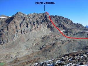 Via Normale Pizzo Varuna
