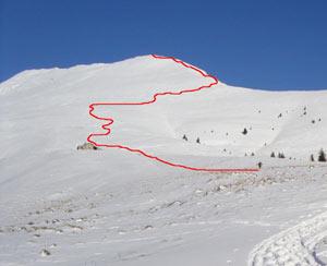 Via Normale Monte Vaccaro