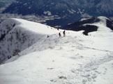 Via Normale Monte Vaccaro - In cresta