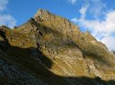 Via Normale Forca di Casseo - La Forca di Casseo dai pressi della Capanna Quarnei