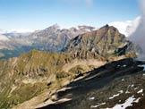 Via Normale Piz di Strega - Panorama di vetta verso la Cima dei Cogn e la Cima Rossa