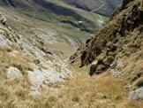 Via Normale Pizzo di Gino - canalone S - Lungo il canale e l'Alpe Piazza Vacchera