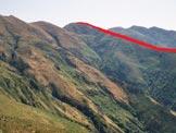 Via Normale Monte Tabòr - Il Monte Tabòr da WSW