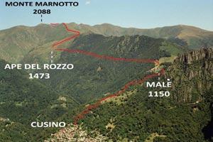 Via Normale Monte Marnotto