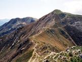 Via Normale Monte Marnotto - Il Monte Marnotto da NW