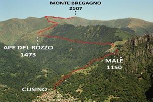 Via Normale Monte Bregagno - Cresta WNW