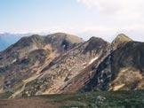 Via Normale Monte Bregagno - Cresta WNW - A sinistra il Monte Bregagno, da WNW