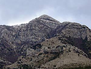 Via Normale Monte Monaco di Gioia