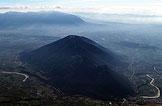 Via Normale Monte Monaco di Gioia - Vista su M. Acero (q. 736 m) e la Valle del Titerno