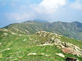 Via Normale Monte Garzirola - da SE - La vetta dalla (q. 2075 m)