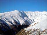 Via Normale Monte Garzirola - da SE - Il Monte Garzirola in veste invernale