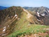 Via Normale Monte Stabbiello - Il Monte Stabbiello da NNE
