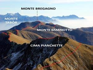 Via Normale Monte Bregagno - Pizzo di Gino
